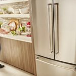 How a French door refrigerator vs. side-by-side compare?
